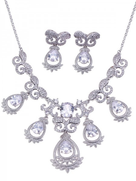 Gorgeous Alloy Bridal Hot Sale Jewelry