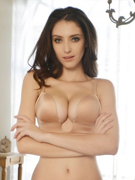 Cotton Strapless party Bra