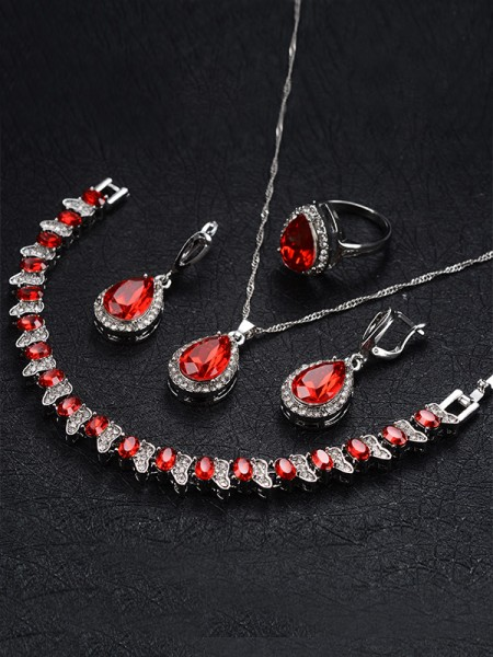 Occident Graceful Alloy With Rhinestone Hot Sale Jewelry