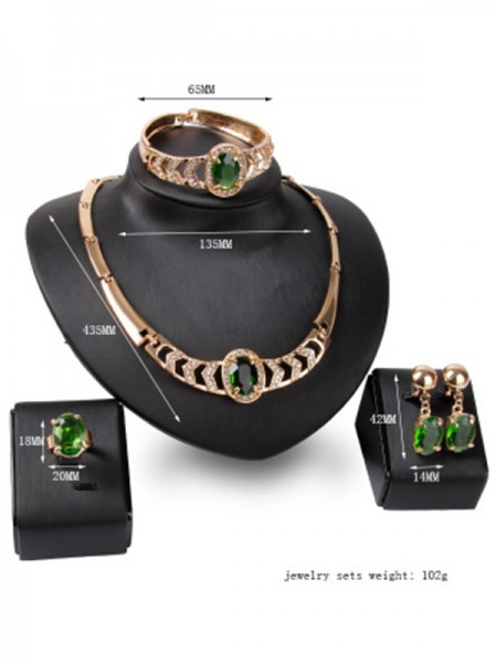 Luxurious Alloy Hot Sale Jewelry