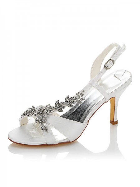Cheap Satin Wedding Shoes SW01415A1I